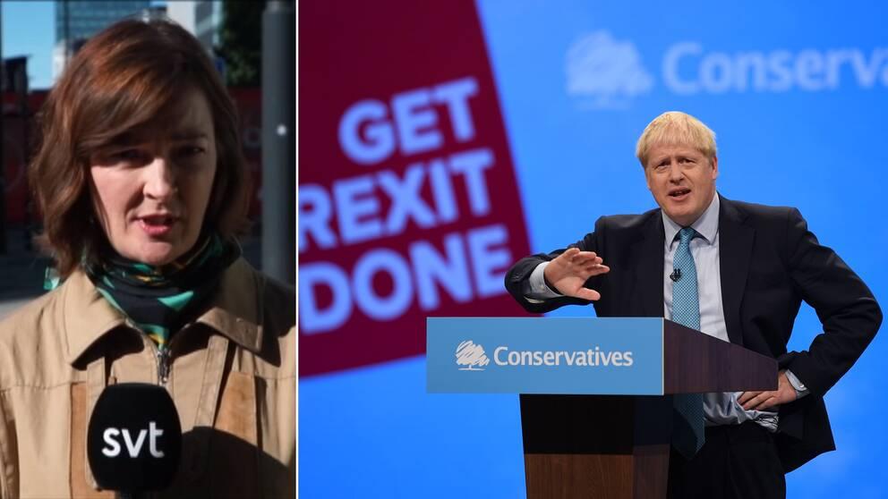 SVT:s utrikesreporter Anna-Maja Persson om vad som händer härnäst i brexit efter att Storbritanniens premiärminister Boris Johnson talat på det konservativa Torypartiets kongress.