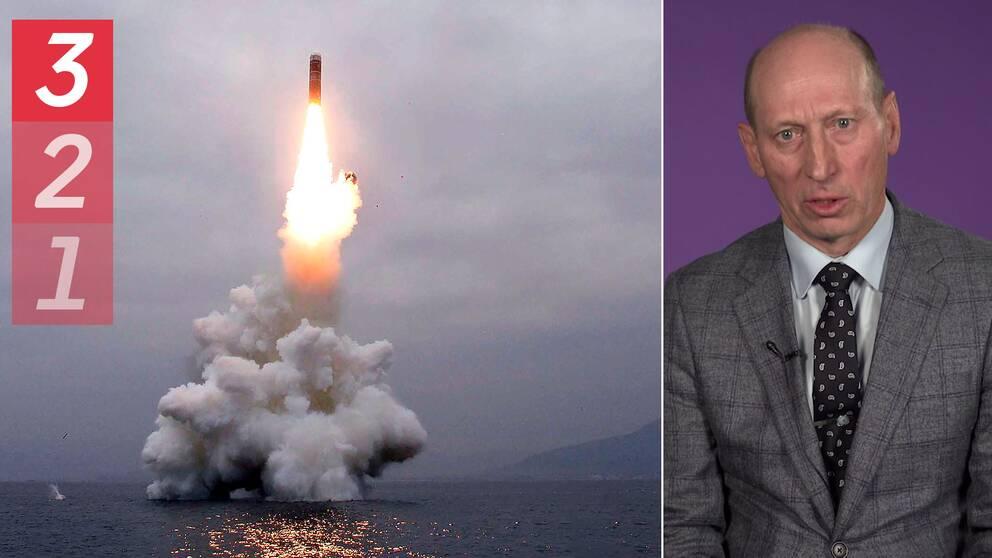 Mats Engman, militär expert på ISDP