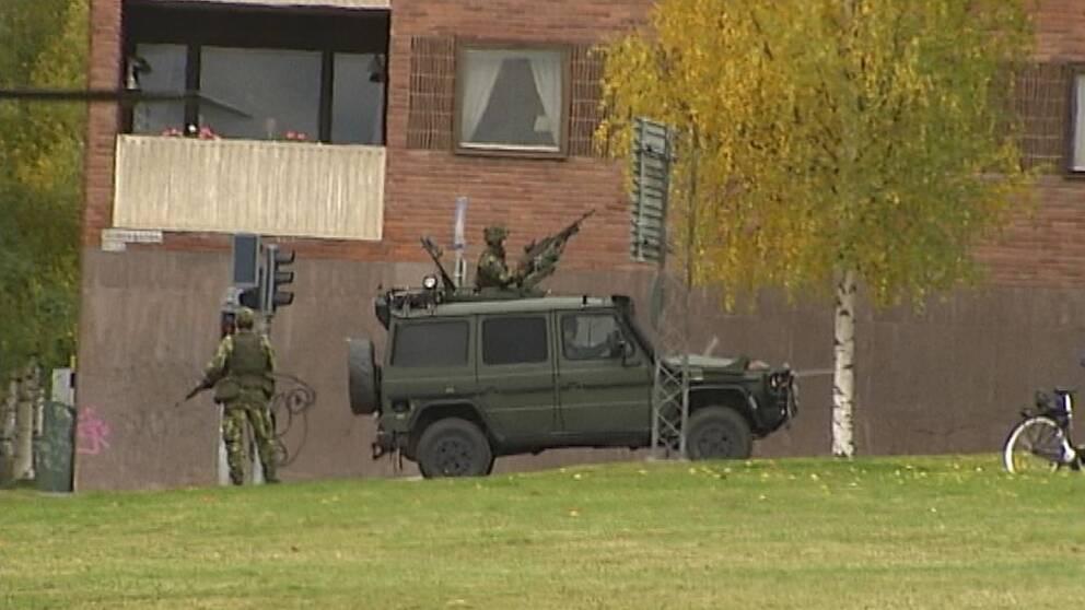 Största totalförsvarsövningen i Sverige sedan 1980-talet.