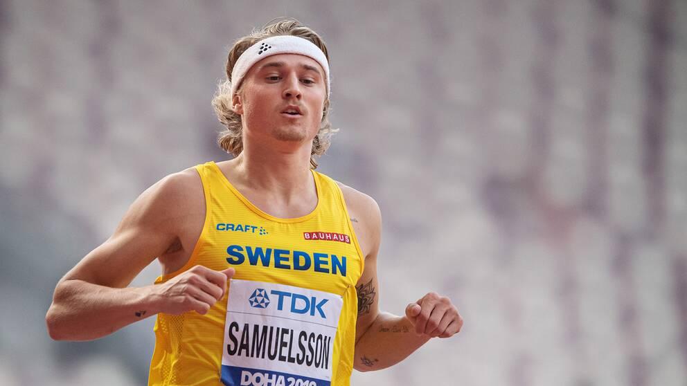 Fredrik Samuelsson slutade 15:e i mångkampen.