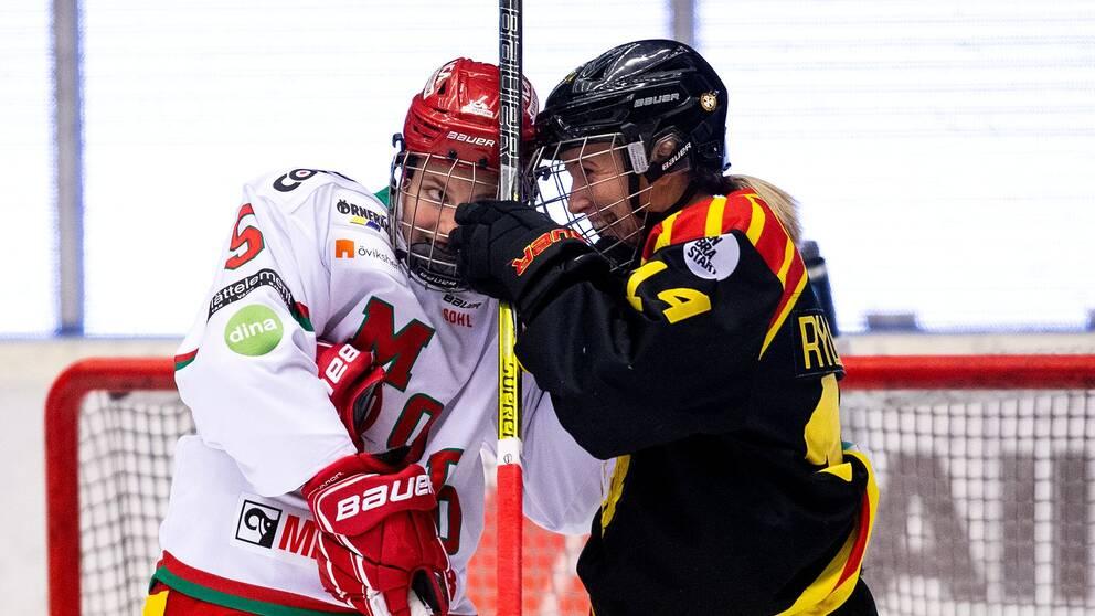 Mötet mellan Brynäs och Modo i Gävle var en tät drabbning.