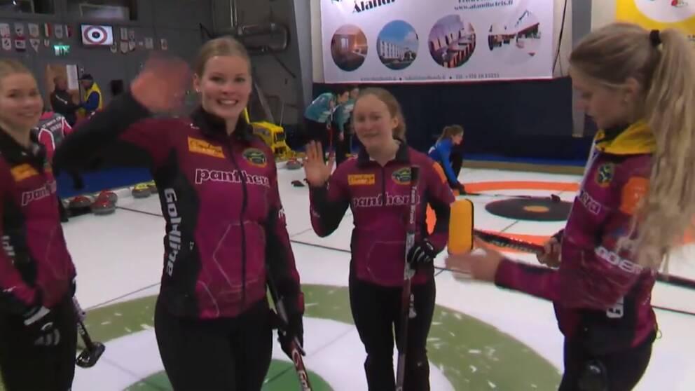 Lag Isabella Wranå vann en världstour-tävling på Åland.