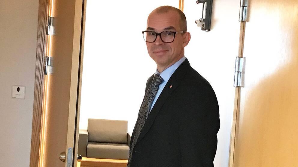 Niklas Nordström (S), kommunalråd i Luleå