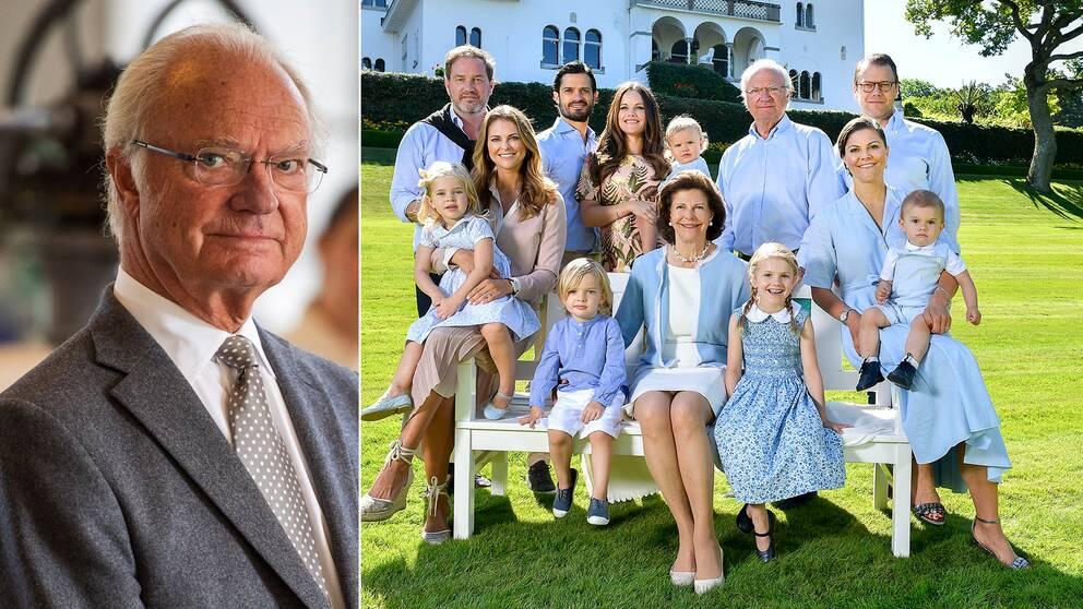 """Den del av anslaget som går till prinsparet och prinsessan Madeleine är en """"utomordentligt liten del av det totala anslaget"""" säger riksmaskalken med anledning av kungens beslut att vissa av hans barnbarn inte länge räknas till kungahuset."""