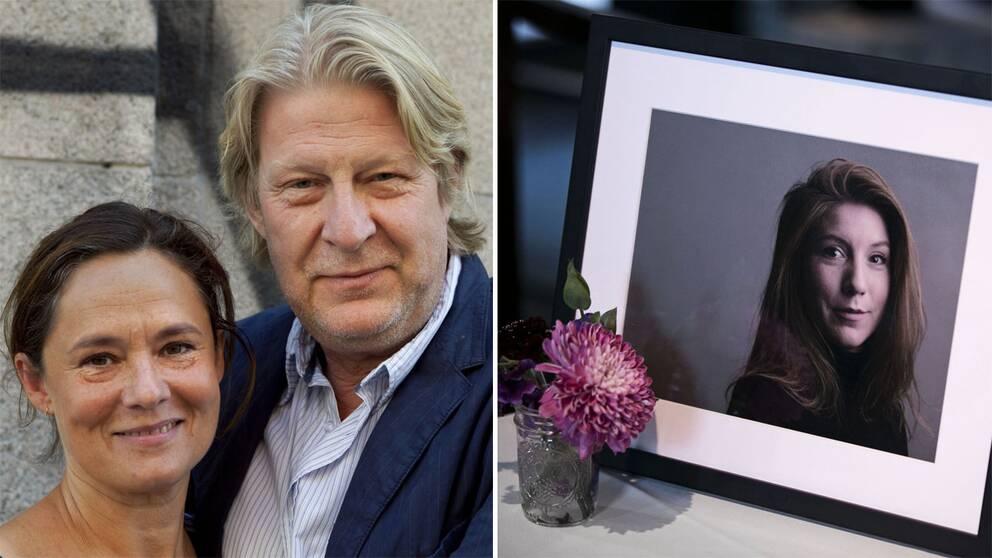 Arkivbild. Skådespelarna Pernilla August och Rolf Lassgård spelar Kim Walls föräldrar i den nya serien.