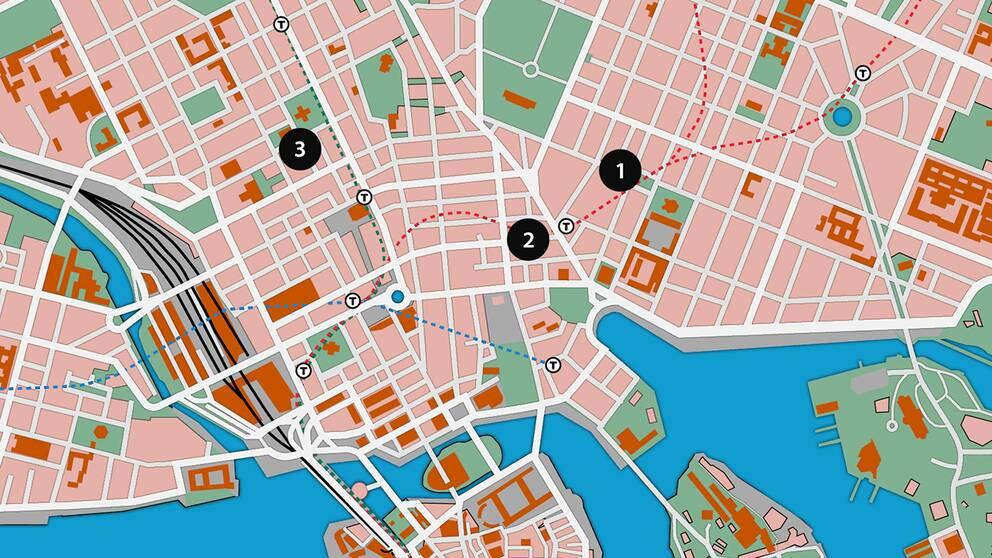 Karta Stockholms Universitet.Karta Har Slog Ranarna Till Svt Nyheter