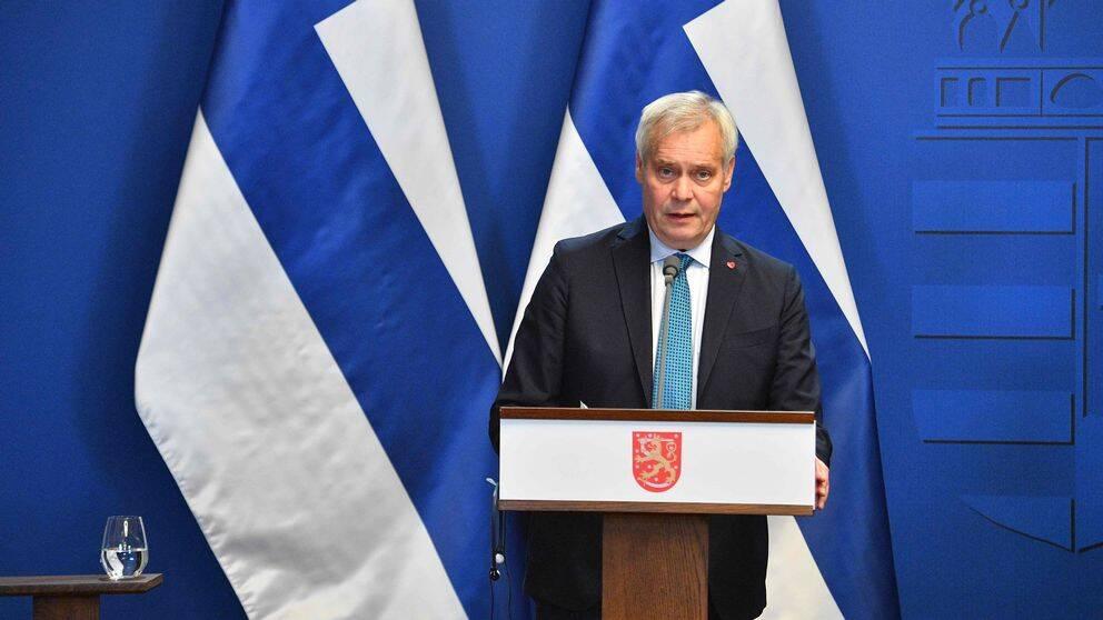 Finlands statsminister Antti Rinne.