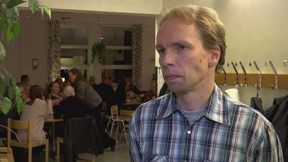 Mathias Haglund (S), kommunalråd i Vindeln