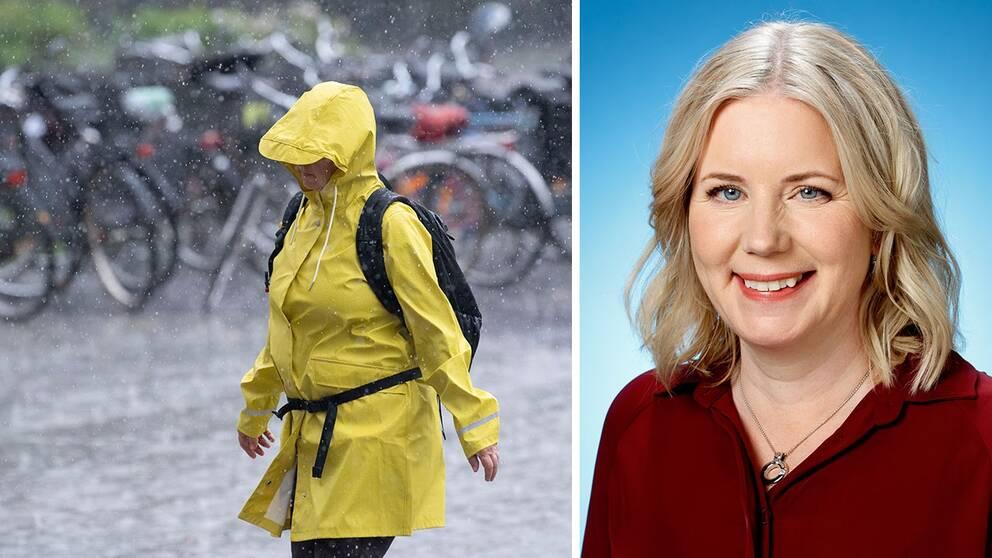 Åsa Rasmussen är meteorolog på SVT.