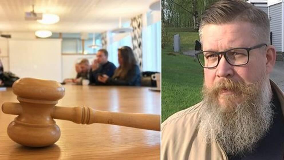 Statsvetaren Simon Matti ser ett klart samband mellan Lekfalk-affären och Niklas Nordströms avhopp.