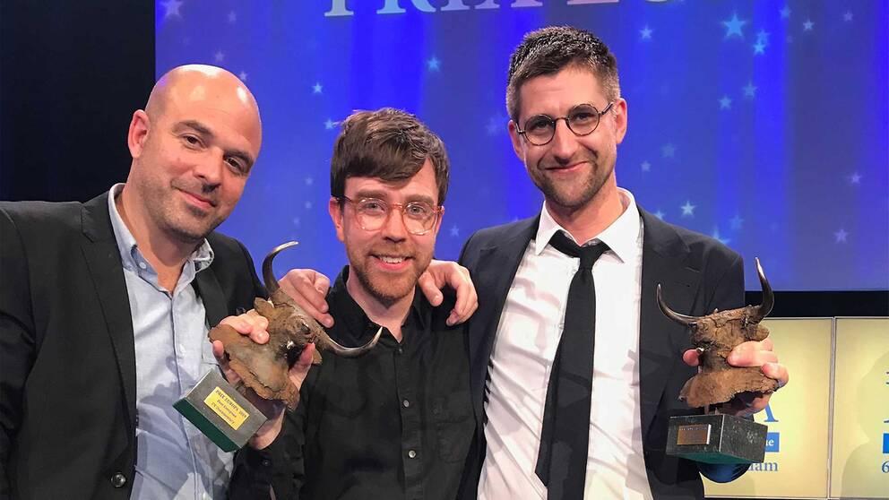 Ali Fegan, Marcus Lindeen och Axel Gordh Humlesjö vinner pris för avslöjadet om hur FN:s ledning mörkade uppgifter om mordet på FN-experten Zaida Catalán