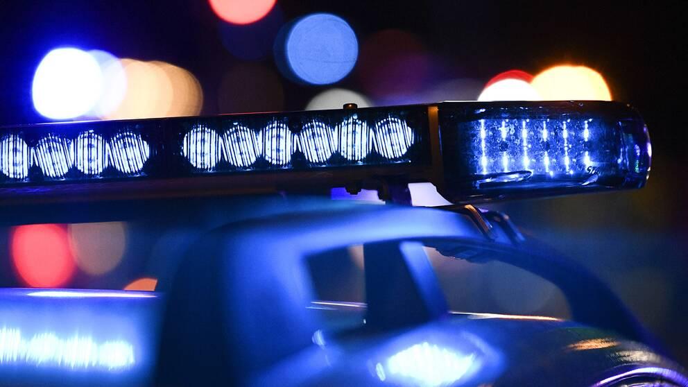 Polisbil, sirener