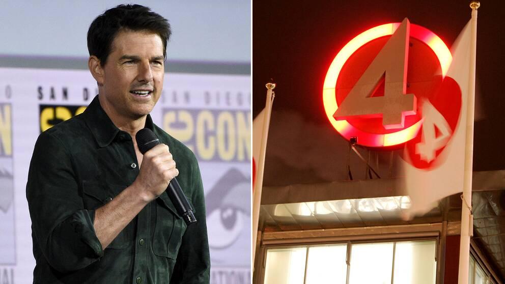 Tom Cruise under presskonferensen för den kommande uppföljaren till Top Gun – Maverick – på Comic Con i San Diego i somras.