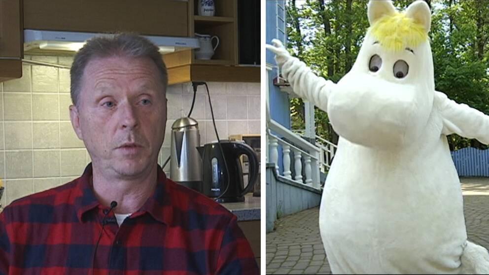 Kenneth Svensson (S) och mumin