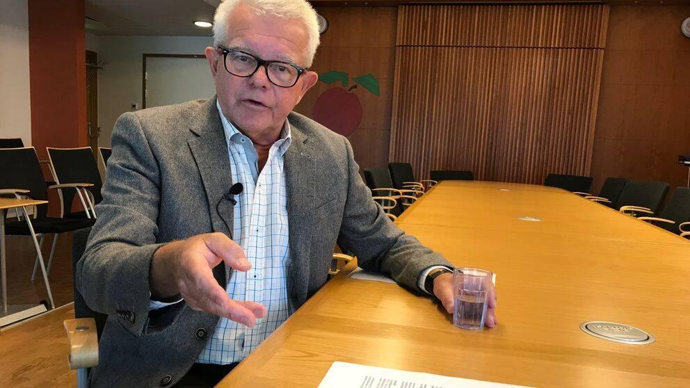Thomas Nerd (S), bildningsnämndens ordförande i Båstad