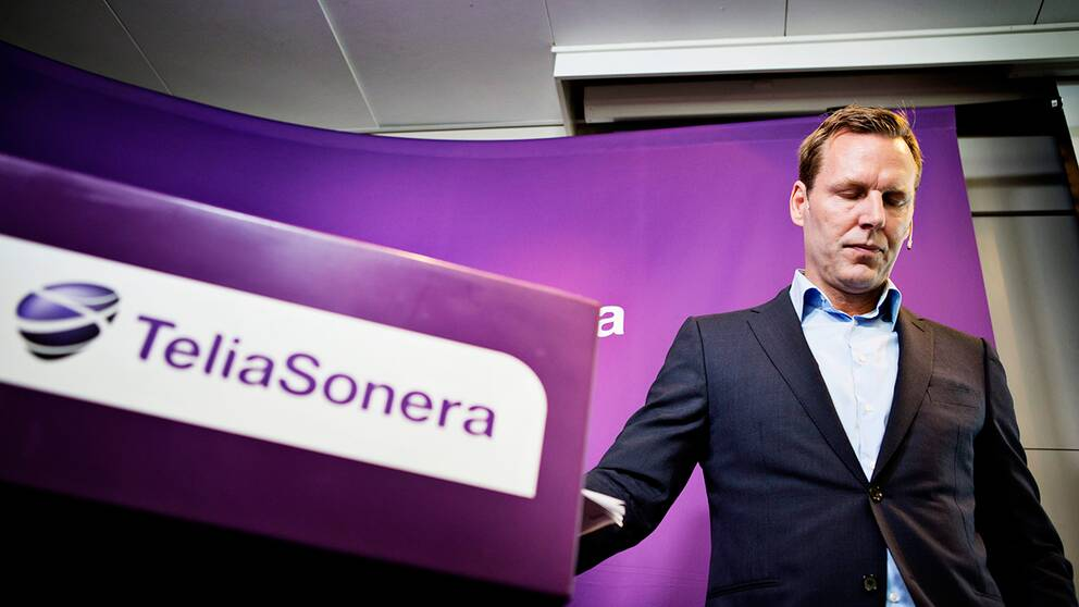 Telia Soneras vd Johan Dennelind