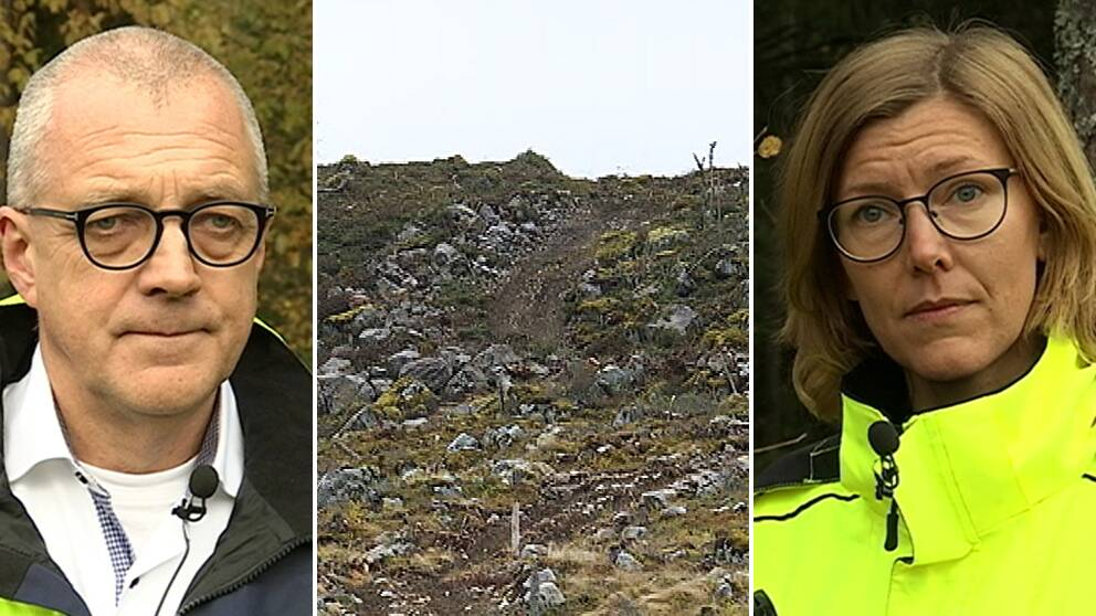 Per Nordlund vd Nysäter Wind och Anna Bäckman Länsstyrelsen