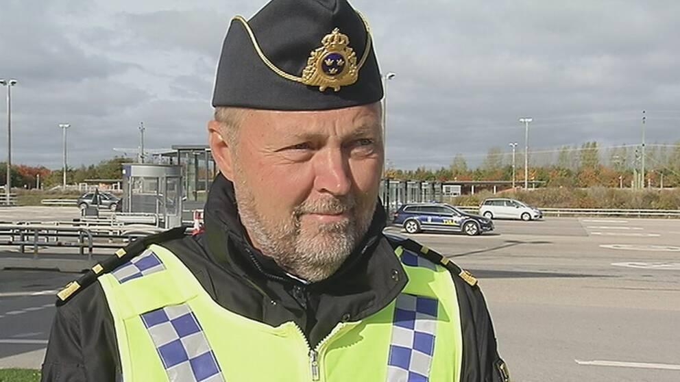 Lars Bäckström, chef för gränsskyddsenheten vid Tullverket.
