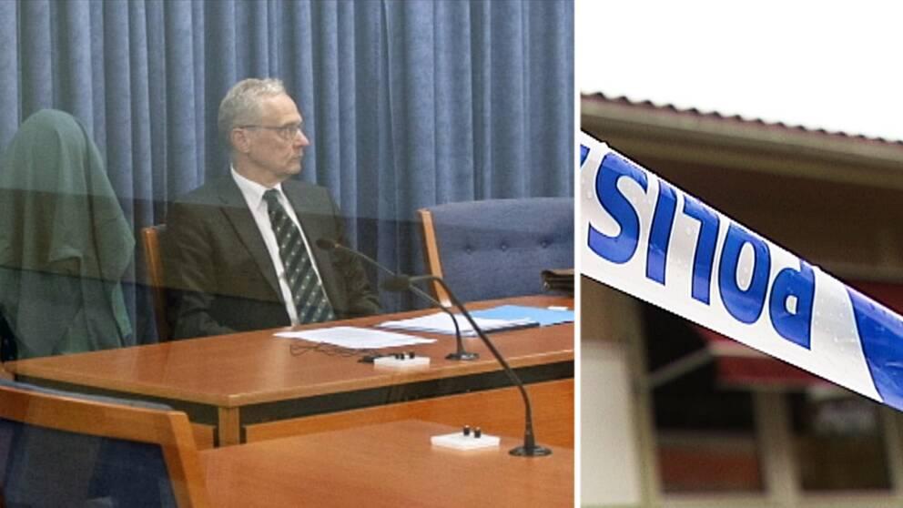 Enligt försvarsadvokaten ska 20-åringen ha känt sig uttnyttjad av den 69-åriga kvinnan, som var hans lärare