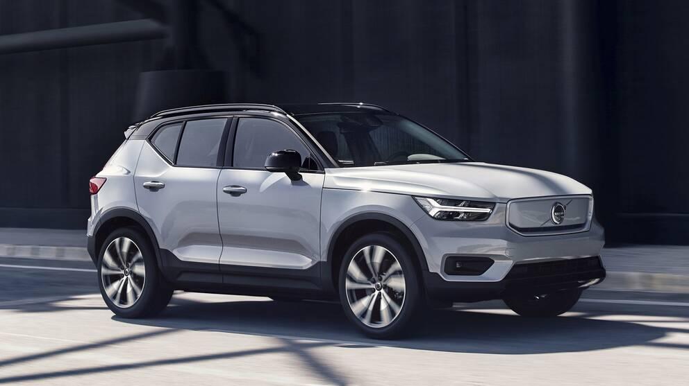 Volvo Visar Sin Forsta Elbil Svt Nyheter
