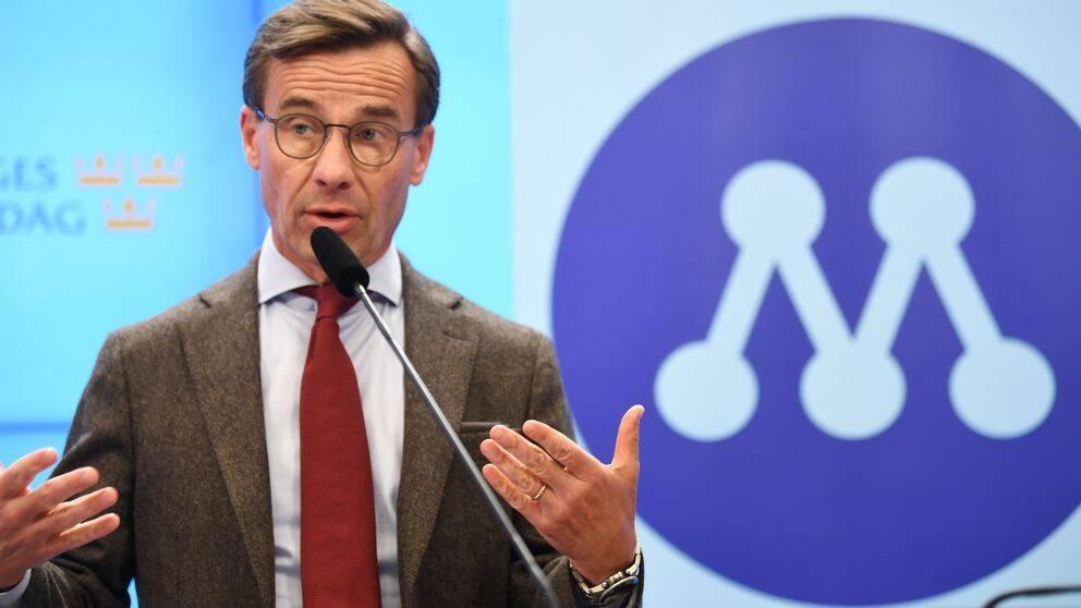 Moderaternas partiledare Ulf Kristersson (M).