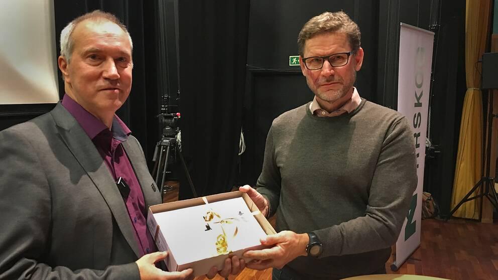 Leif Edh och Stig Högberg