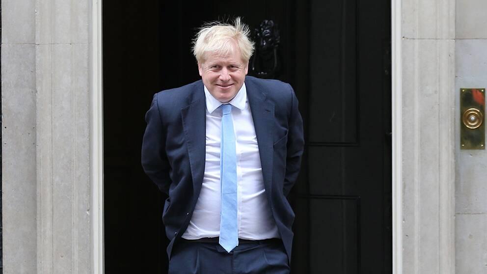 Stödparti nobbar Johnsons brexitavtal