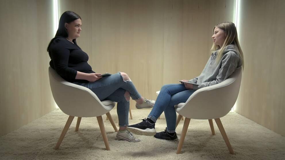 Selina Bjermkvist och Elli Hulth