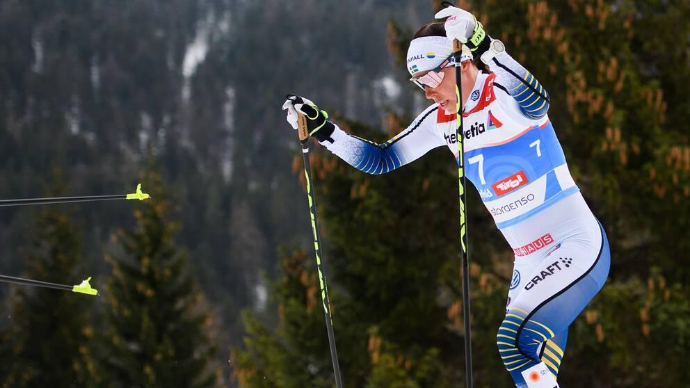 Charlotte Kalla ska tävla i den nya skidtouren.