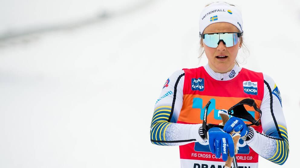 Stina Nilsson ådrog sig en svår lårskada i vintras.