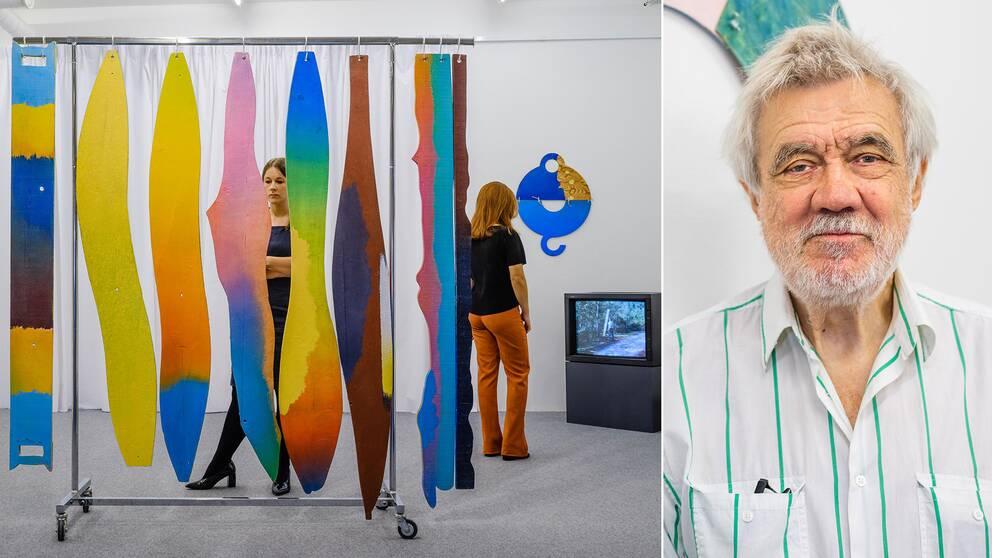 Konstnären Enno Hallek är aktuell med tre utställningar, två i Sverige och en i Estland.