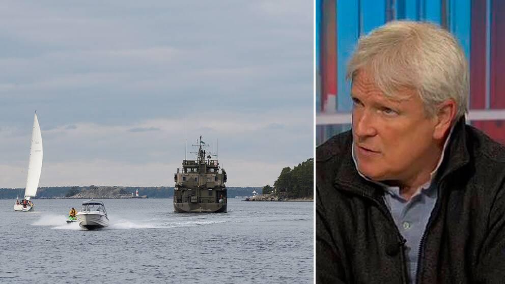 Tomas Ries, lektor i strategi och säkerhetspolitik vid Försvarshögskolan