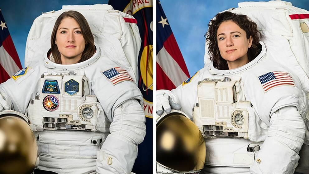 För första gången genomförs en rymdpromenad med enbart kvinnliga astronauter