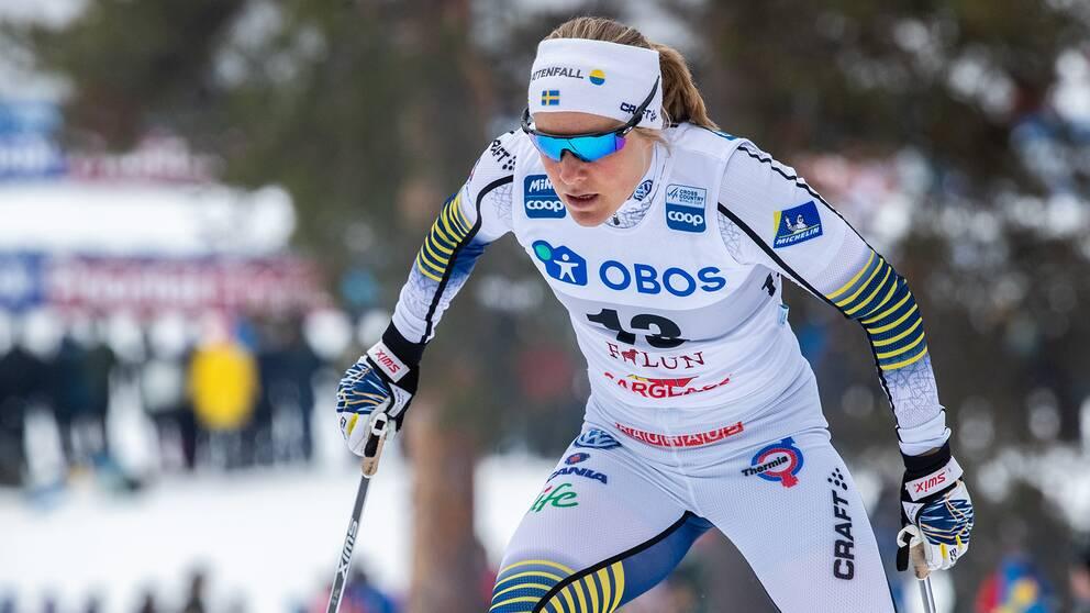 Världscupen kommer till Ulricehamn även säsongen 2020-2021. Återstår att se om Hanna Falk då får visa upp sig inför hemmapubliken.