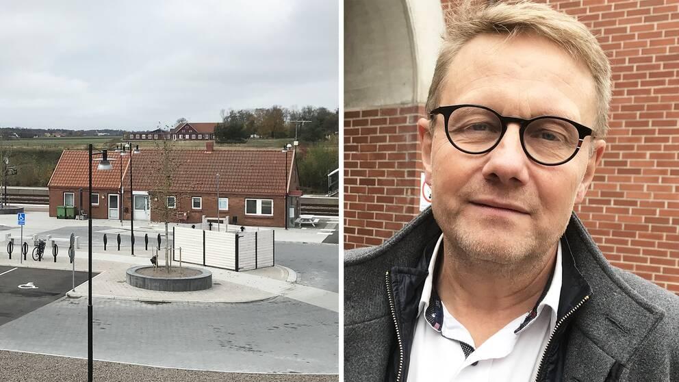 Erling Cronqvist (C) var ett av kommunråden som gick reda på förra året att två stora markarbetesprojekt påbörjats utan upphandling. Då var han inte kommunstyrelsens ordförande, men tillträde posten i januari 2019.