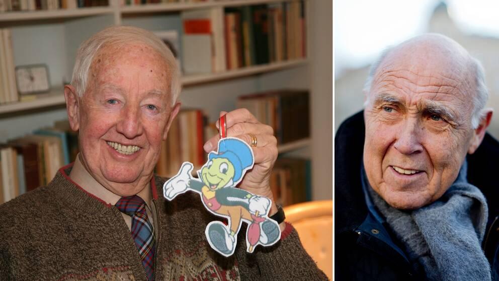 Bengt Feldreich, den första julvärden i SVT, blev 94 år gammal.
