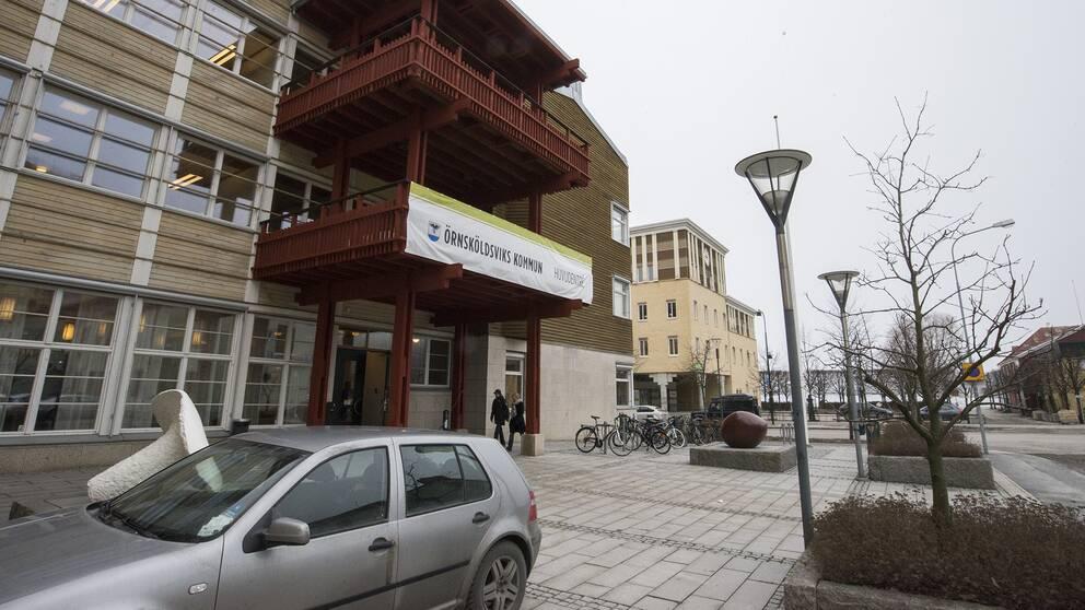 Örnsköldsviks kommunhus.