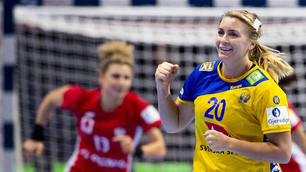 Sveriges Isabelle Gulldén.