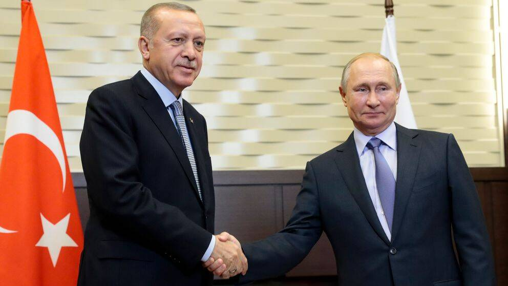 Rysslands president Vladimit Putin och Turkiets president Recep Tayyip Erdogan har kommit överens om situationen i norra Syrien.