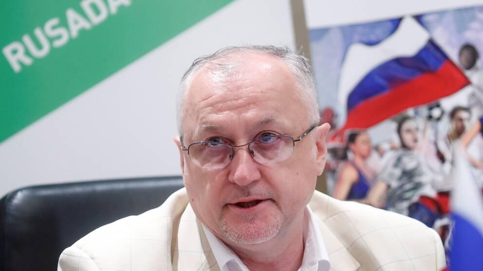 Chefen för Rysslands antidopningslaboratorium Rusada, Jurij Ganus.