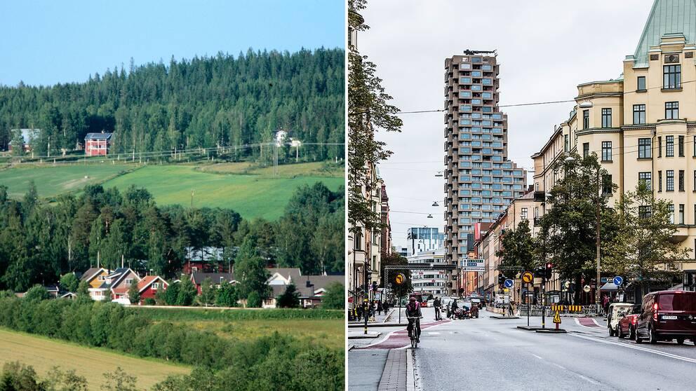 Glesbygdskommuner underkompenseras i förhållande till storstadskommuner, enligt Riksrevisionen