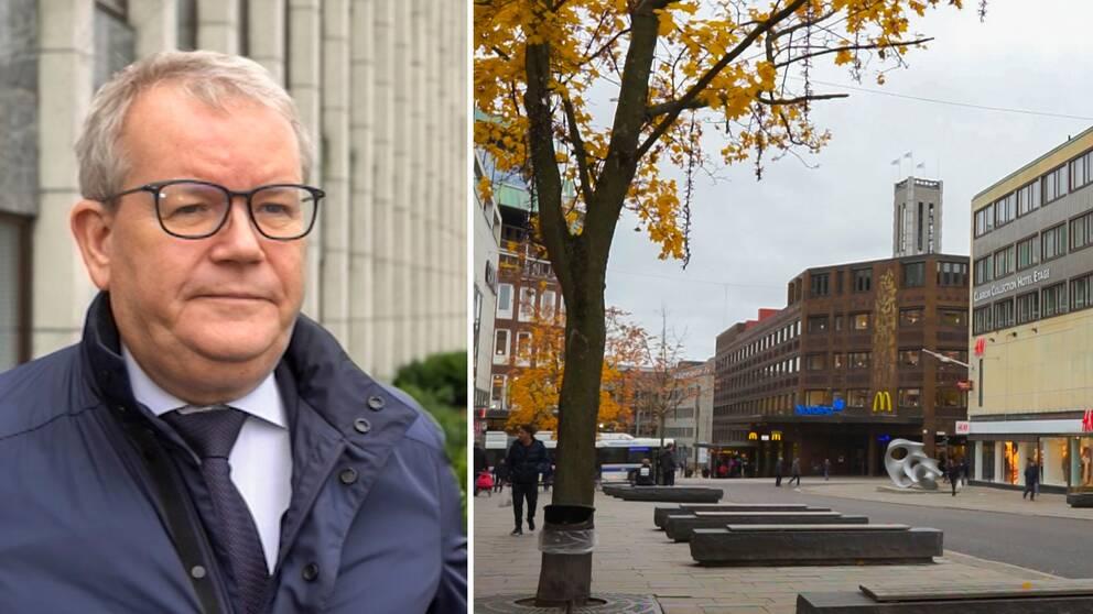 Anders Teljebäck (S), kommunstyrelsens ordförande. Västerås centrum.
