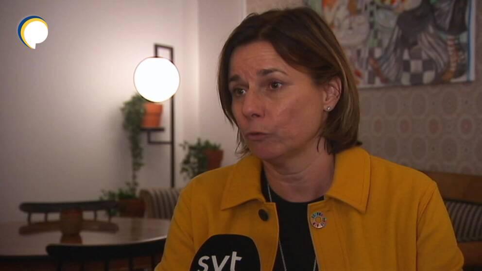 Hör Isabella Lövins kommentar om önskemålet om ett lägre bensinpris för boende på landsbygden här.