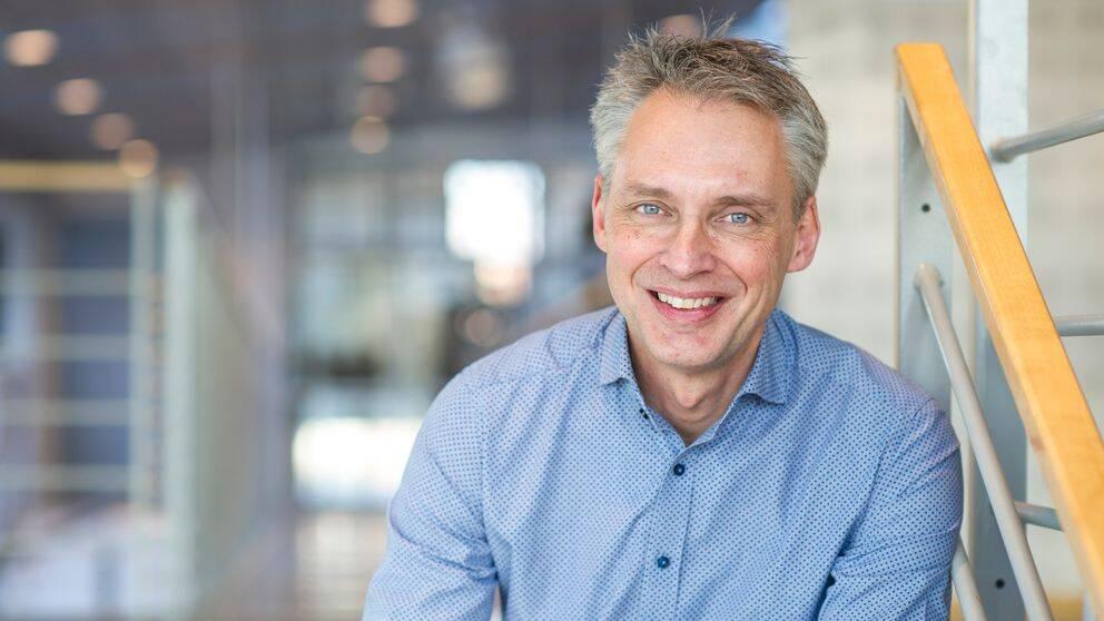 Björn Sjöström är vd på Varberg Energi.