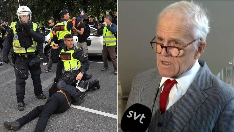 """Försvarsadvokaten Svante Thorsell: """"Målet kommer med all säkerhet att överklagas, för att det innehåller en begränsning av yttrandefriheten"""""""