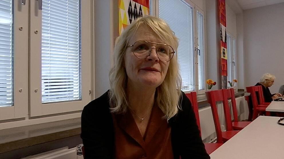 Porträttbild på Ingrid Kalm