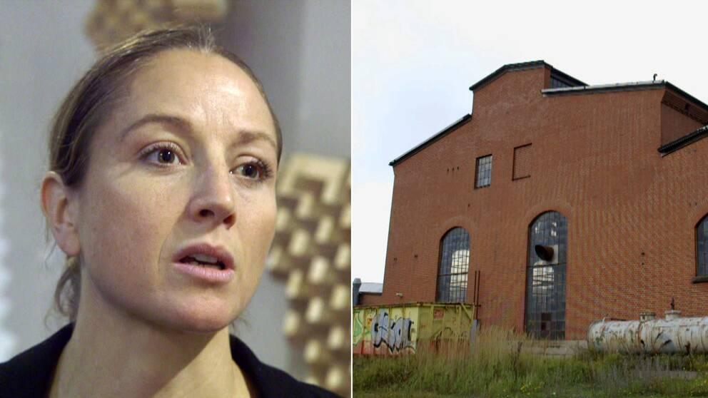 Koreografen Emma Ribbing har sin verksamhet i Lokstallarna i Malmö.