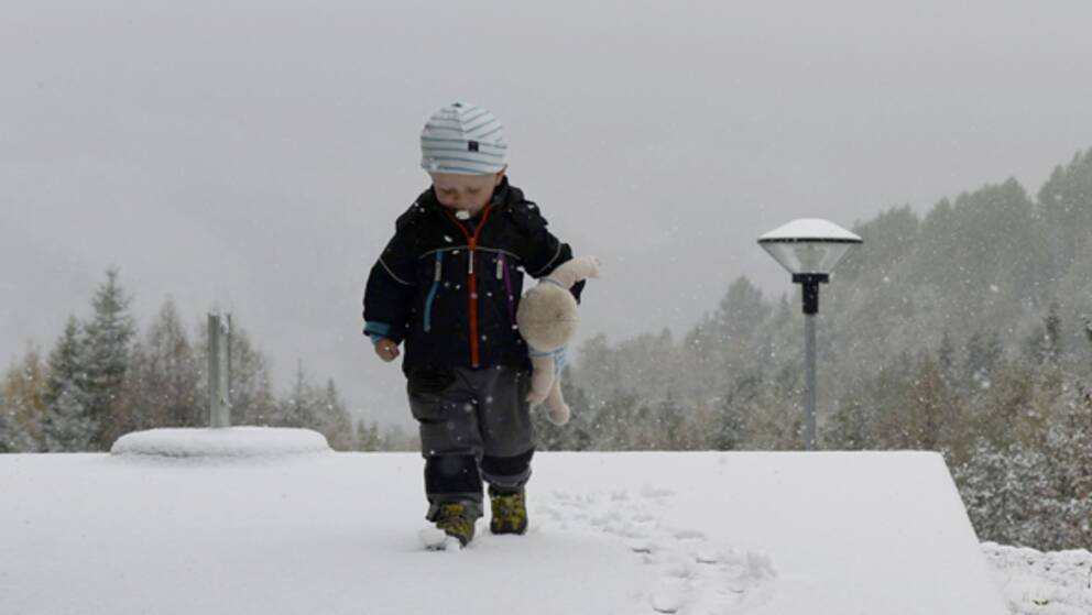 Vintertid daligt for barns halsa