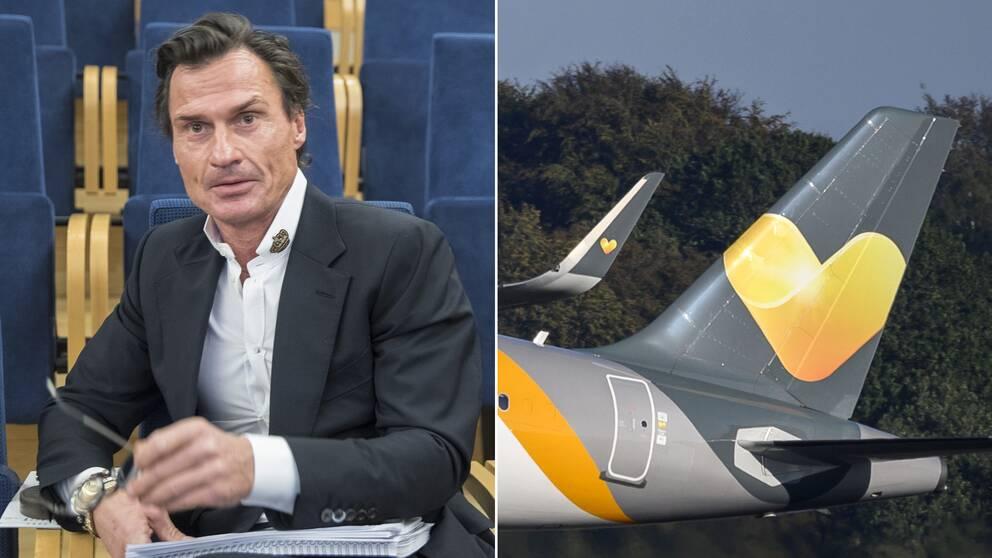 Hotellentreprenören Petter Stordalen en av de nya ägarna till flygbolaget Ving efter att Thomas Cook gått i konkurs.