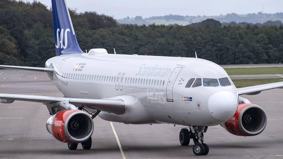 SAS Airbus 320